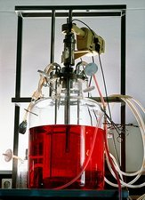 Fermentation unit used in biotechnology
