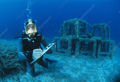 Underwater biological research
