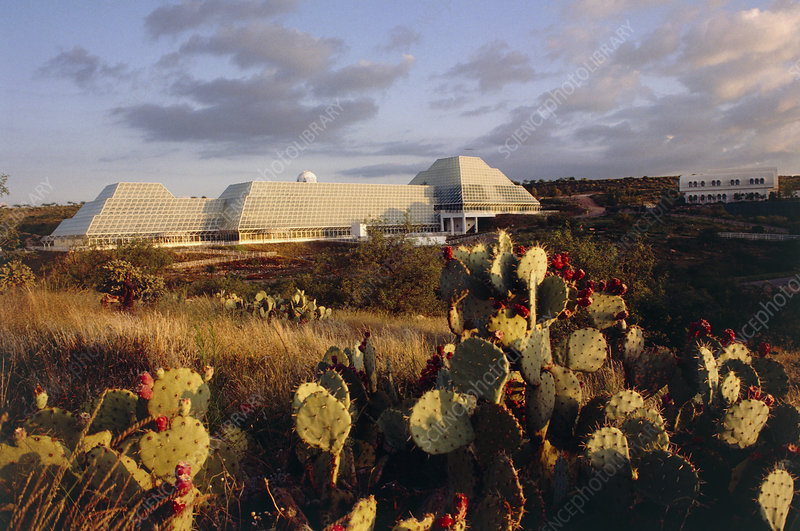 Biosphere 2 buildings