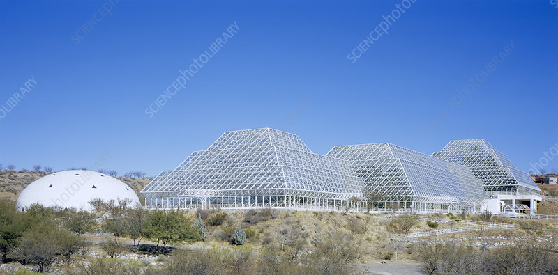 Biosphere 2 Laboratory buildings