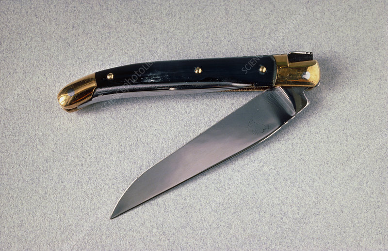 Close-up of a penknife