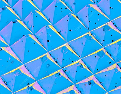 SEM of the surface of advanced sandpaper