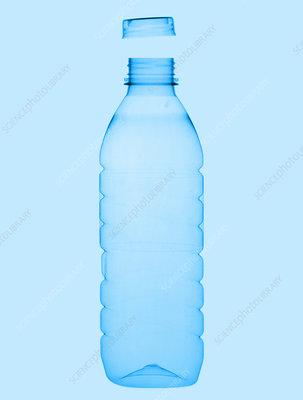 Plastic bottle X-ray