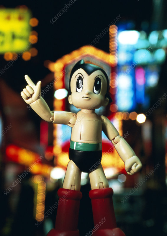 Mighty Atom Japanese toy