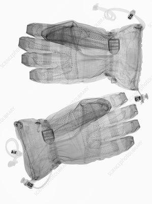 Gloves, X-ray