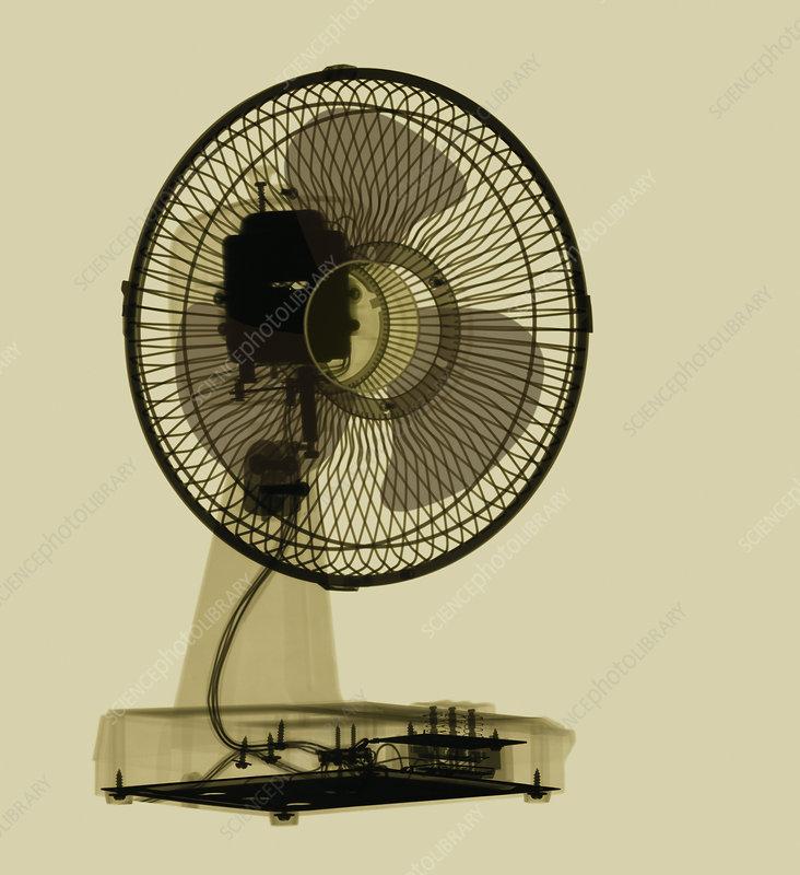 Electric fan, X-ray