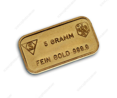 Dutch gold bar