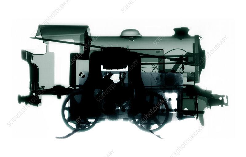 Electric train, X-ray