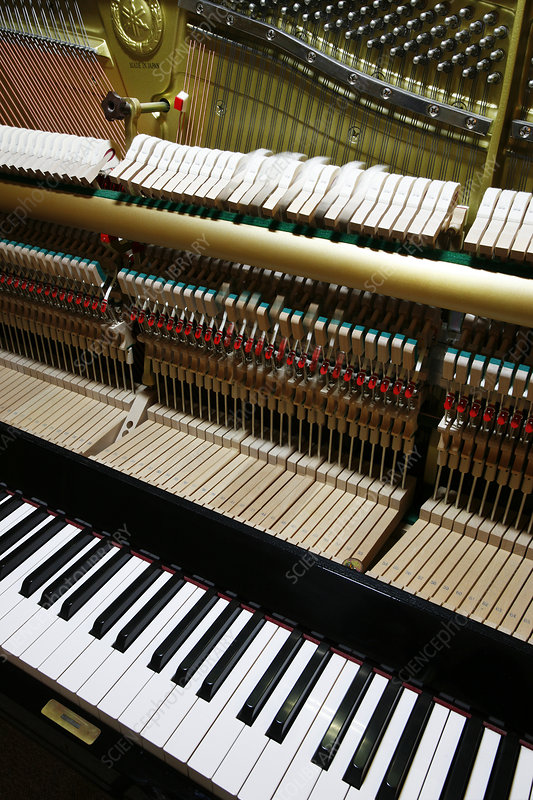 Piano, composite image