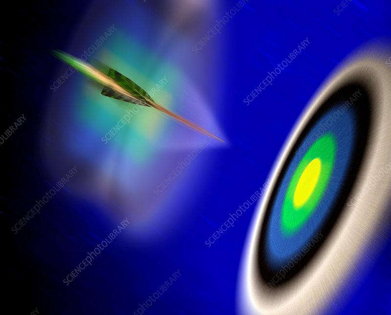 Bullseye Arrow