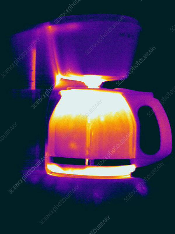 Warming Coffee Machine