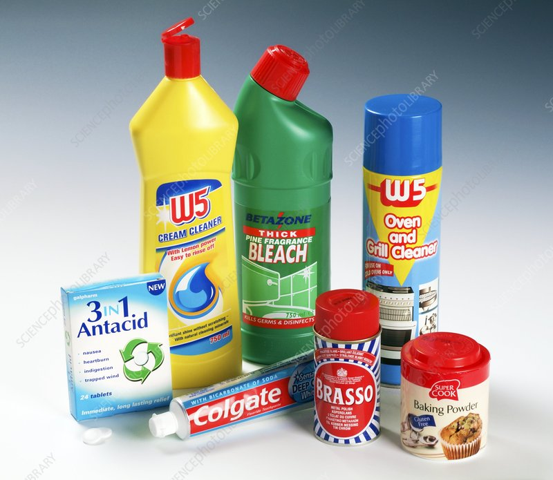 Household Supplies: Alkaline Household Products