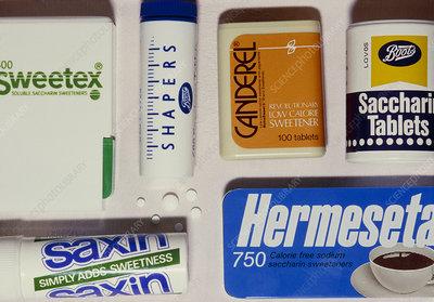 Assortment of artificial sweeteners