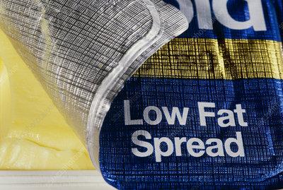 Low fat spread