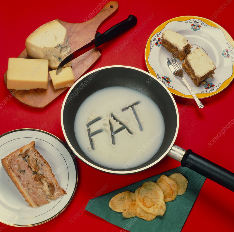 Foods containing fat