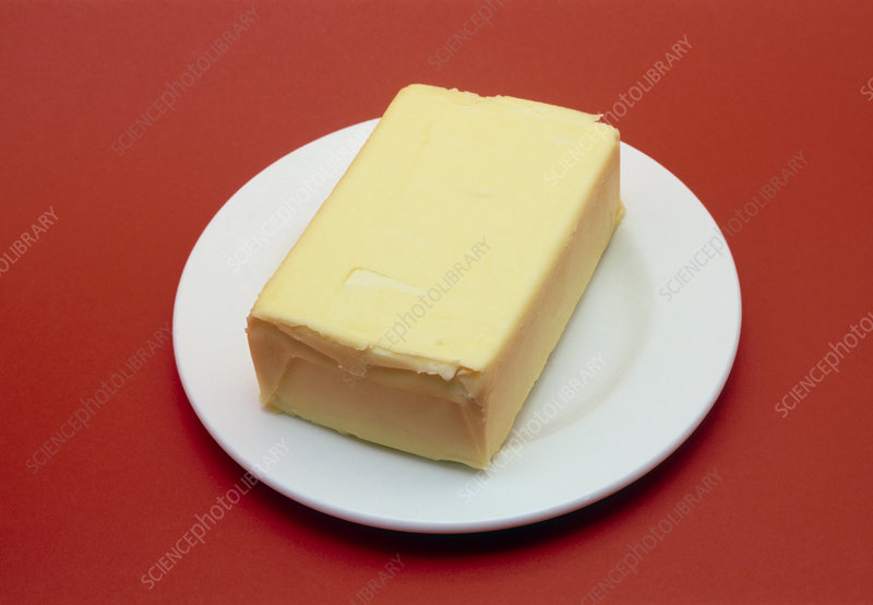 Block of butter