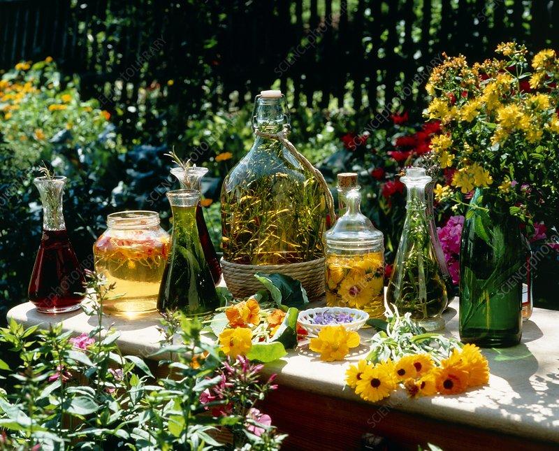 Aromatic vinegars