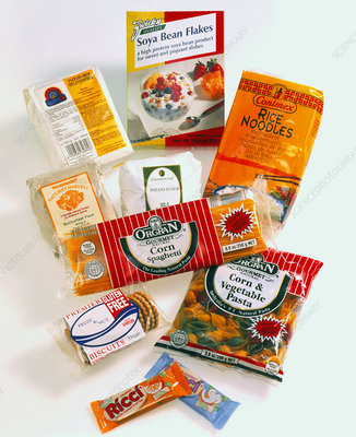 Packaged gluten-free foods