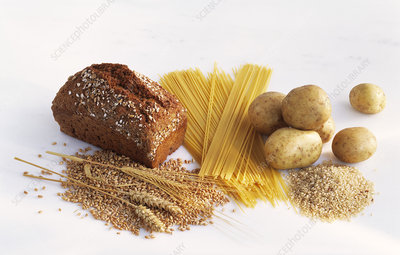 Carbohydrate-rich food