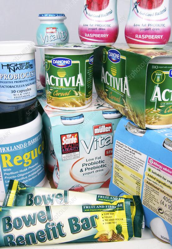 Prebiotic probiotic foods list kroger