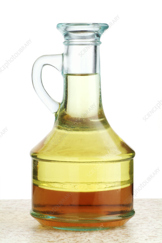 Oil and vinegar salad dressing