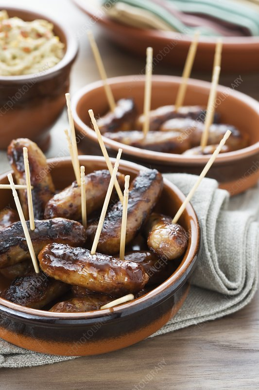 Cocktail sausages