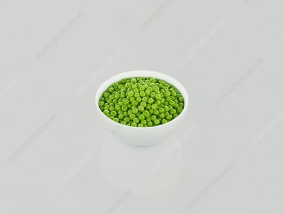 Cooked peas