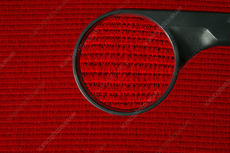 Corduroy under a magnifying glass