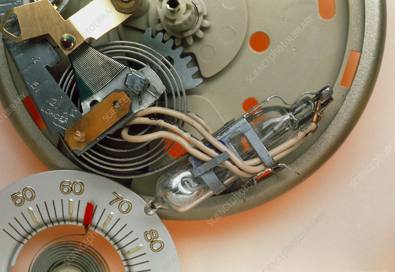 Terrific Thermostat With Mercury Switch Stock Image H130 0246 Science Online Wiring Library Wiringstandardsboompriceit