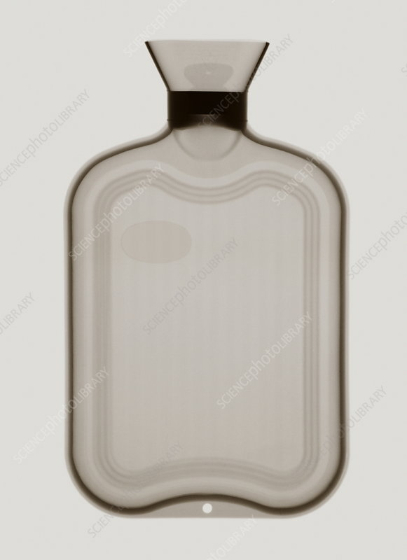Hot water bottle X-ray