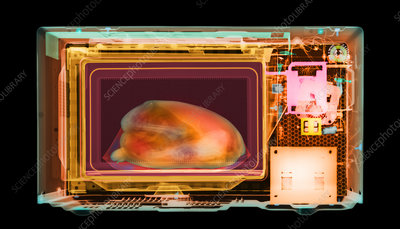 Microwave oven X-ray
