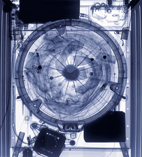 Washing machine X-ray