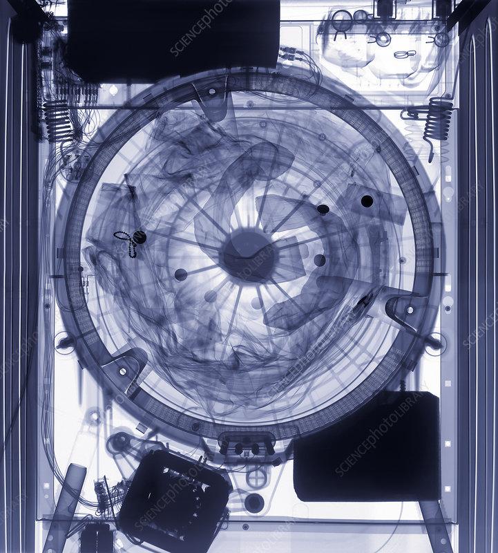 Washing machine X-ray