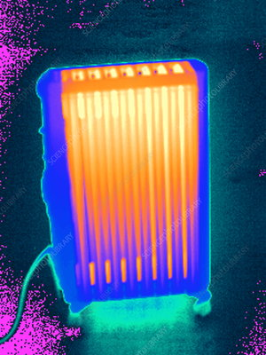 Heater, thermogram