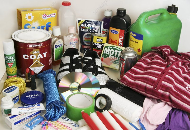 Petroleum-based consumables - Stock Image - H130/0466