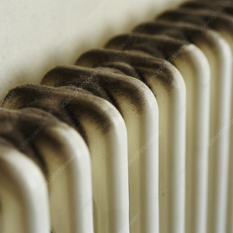 Dusty radiator