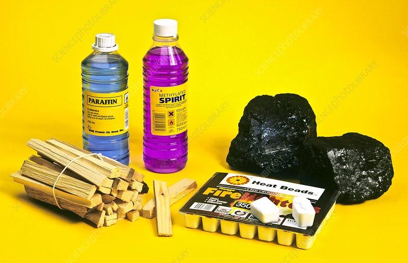 Combustible materials
