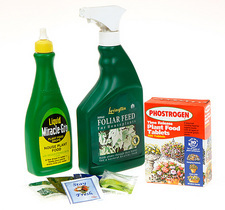 Houseplant food products