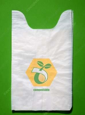 Biodegradable plastic bags