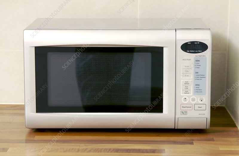 Domestic microwave oven