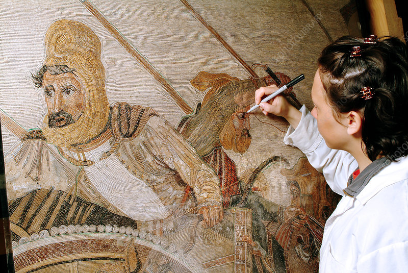 Battle of Issus mosaic reconstruction