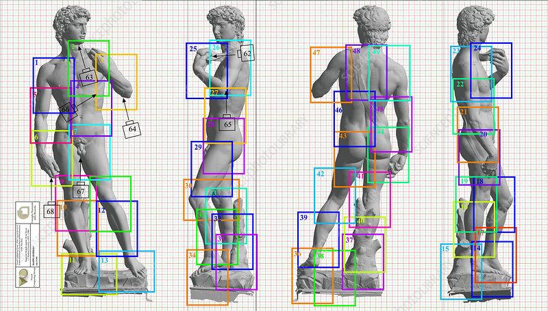 Restoration of Michelangelo's David
