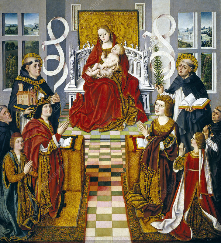 The Virgin of the Catholic Kings