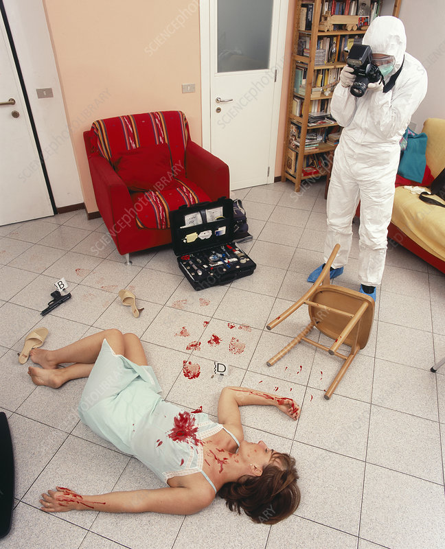 Famous Murder Case Crime Scene Photos