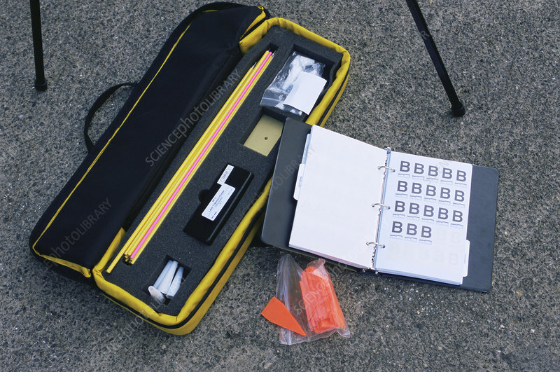 Forensic Ballistics Equipment Stock Image H200 0447 Science Photo Library