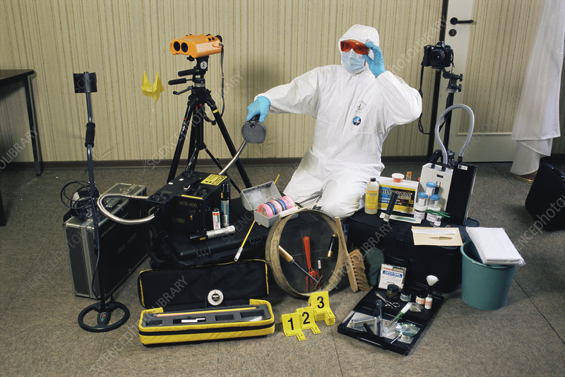 Forensic Science Equipment Stock Image H200 0486 Science Photo Library