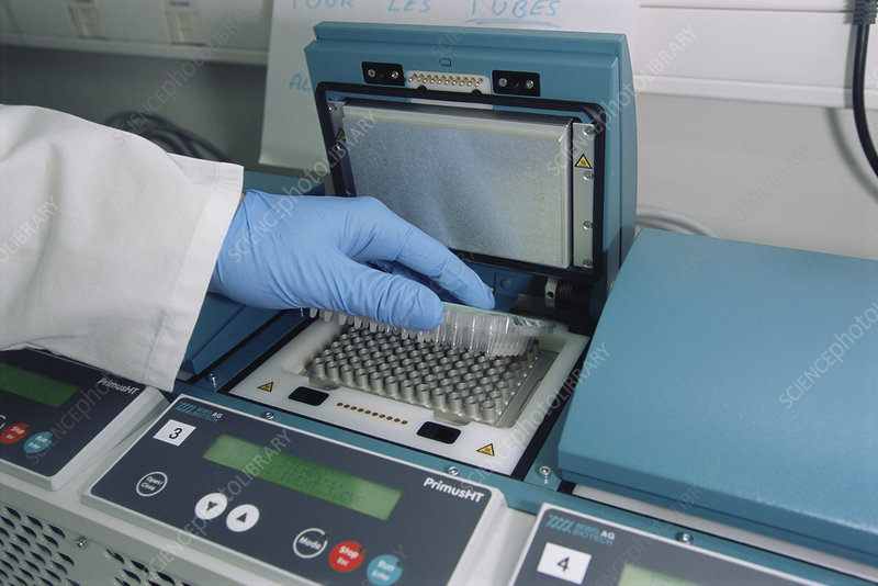 Thermocycler for forensic DNA analysis