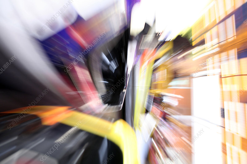 Speed, abstract image