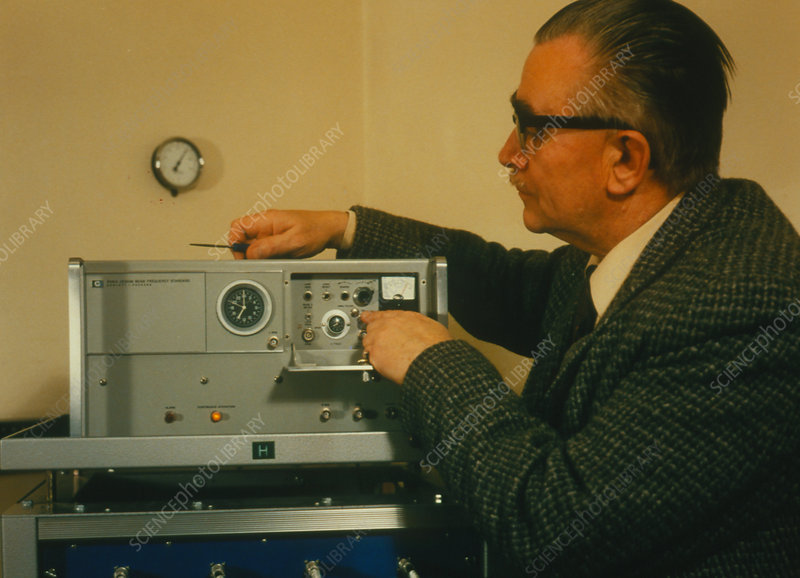 Repairs completed to the atomic clock