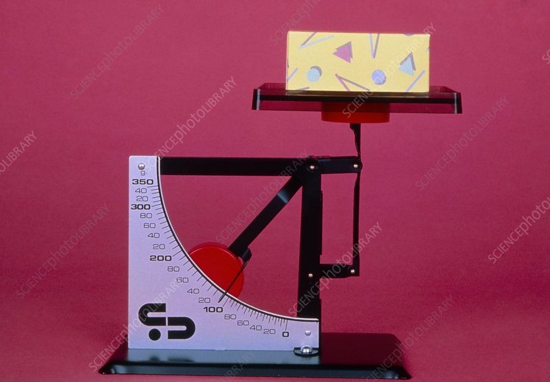Lever balance, scale in grammes